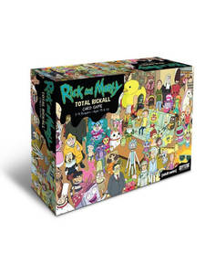 Game-Cards Collection Morty-Game Total-Rickall Play And for Fun with Box Yuego