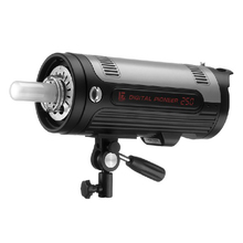free shipping Jinbei photography light video beam professional digital studio lights flash light twin flash dp-250 250w(China)