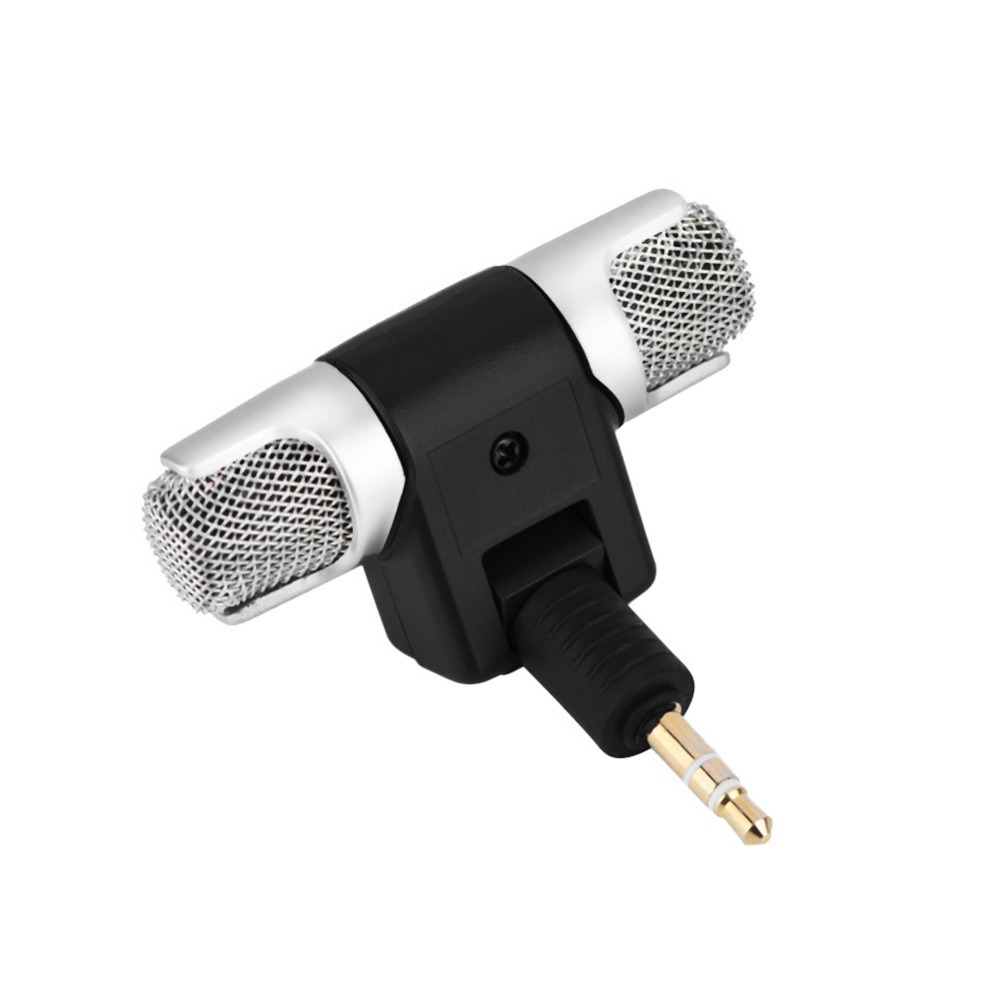 Mini Stereo Microphone Mic 3.5mm Gold-plating Plug Jack for PC Laptop MD Camera (6)