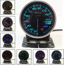 "Colorful Universal tachometer 2.5"" 60mm BF Oil Pressure Gauge Auto Gauge Meter Car Instruments boost gauge CY078-CN(China)"