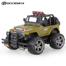 GoolSky 1359-7 Snow Leopard 2.4G 1:20 Remote Control Off-road Cross-country RC Car Buggy SUV with Music &Light Kids Adults Toys