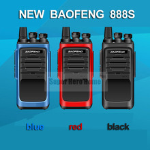 New Baofeng BF-888S Professional Walkie Talkie BF 888S 5W UHF 400-480MHz Handheld Ham Two Way Radio Push To Talk Lang Range