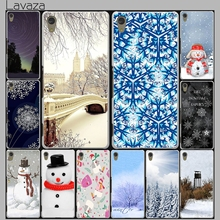 Lavaza Winter New York Central Park Snow Case for Lenovo Vibe K3 K4 K5 K6 Note A1000 A2010 A5000 S90 S850 S60 A536 X3 Lite P1(China)