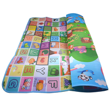 Lightaling Baby Care Playmats Double Faced Animal Giraffe Dinosaurs Farm Carpet Infant Rug Puzzle Crawling Mat