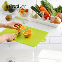 1 Pcs Plastic Cutting Board Food Slice Cut Chopping Block Kitchen Cooking Tools(China)