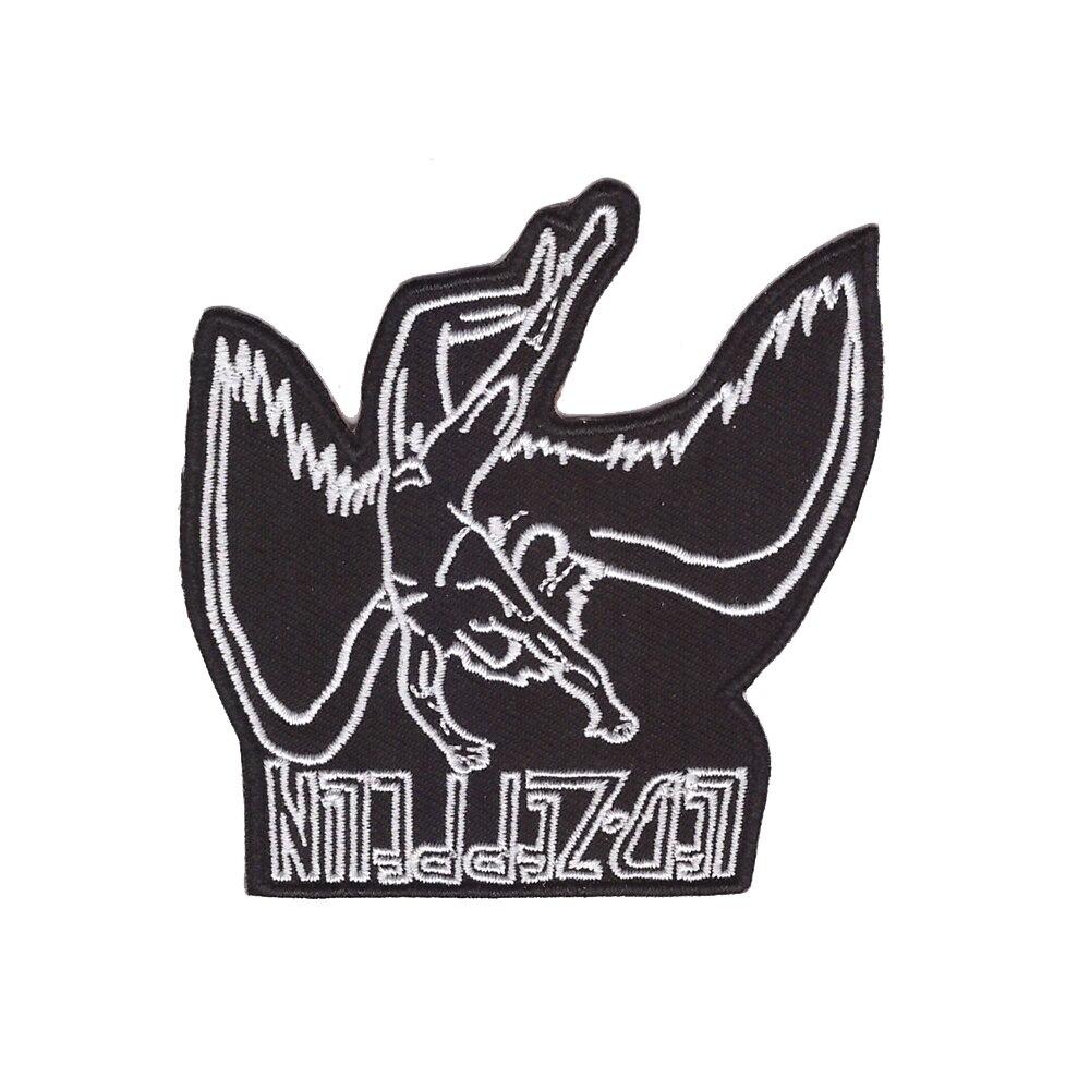 Led Zeppelin Rock Band Logo Bordado Parche con Plancha//Aplique