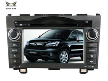 4UI intereface combined in one system CAR DVD PLAYER FOR onda CR-V CRV 2006 2007 2008 2009 2010 2011 Bluetooth GPS NAVI RADIO(China)