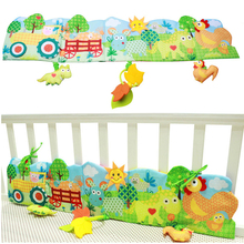 Baby Multifunctional Bed Around & Cloth Books With Farm Animal Model Baby Lovely Toys For Baby Bed