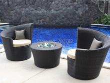 New Coming!!2017 New Design resin wicker patio chairs(China)