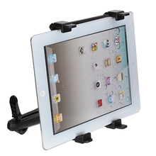 7-13 Inch Adjustable Universal Car Back Seat Headrest Tablet Mount Holder Stand Bracket Kit For iPad 4 3 2 For SAMSUNG Tab 10.1