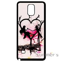 back shell cellphone case cover for iphone 4 4s 5 5s 5c SE 6 6s 7 plus ipod touch 4/5/6 Trendy The Nightmare Before Christmas(China)