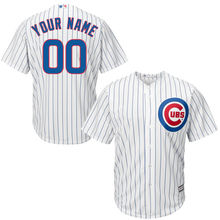 MLB Youth Chicago Cubs Baseball White Home Custom Cool Base Jersey(China)