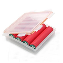 NEW Soshine Portable Hard Plastic Case Holder Storage Box for 4x 18650 Batteries New(Batteries are not included)(China)