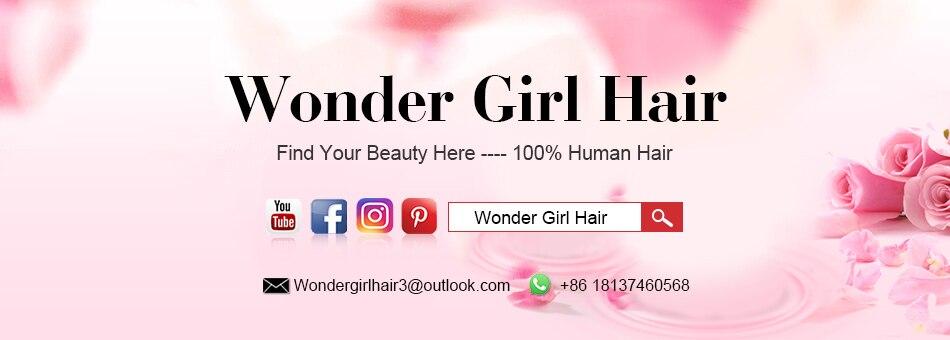Wonder girl Peruvian Kinky Curly Hair Weave Bundles 100g Remy Hair Weaving 1PC 10″-28″ Natural Color 100% Human Hair Bundles