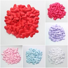 200 x New Pink / Red / Purple / White / Blue / Rose Heart Artificial Flower Wedding Flowers Silk Flower Petals Party Decorations
