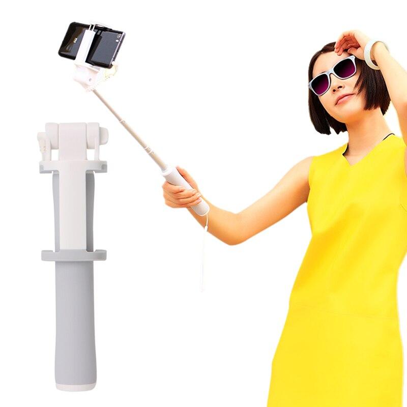 OOTDTY New 2017 arrival Mini Selfie Stick Wireless Bluetooth Wired Self Timer Rod for Phone Xiaomi Redmi  Hot Sale