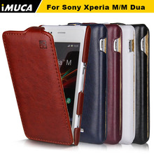 M Case for Sony Xperia M Case Luxury Flip Leather Case Cover for Sony Xperia M C1905 C1904 Dual C2004 C2005 Smartphone Covers