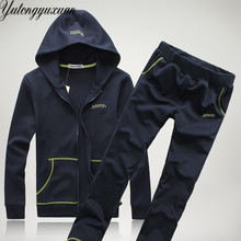 Real Madrid Tracksuit 2017 Autumn Men 2 Piece Set Long Sleeve Big Pocket Hooded Hoodies And Pants Suits Male Casual Clothes