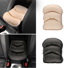 28*21CM Universal Car Auto Armrests Cover Vehicle Center Console Arm Rest Seat Box Pad Protective Case Soft PU Mats Cushion
