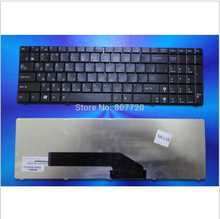 100% brand new  for ASUS Russian  keyboard K50 X5DI K50A K50AB K50IJ K50ID K50IN K61 X5DI K70 K70IJ X5DC black free shipping