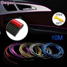 10M DIY Auto Car-Styling Decoration Sticker Case For Alfa Audi Bmw M Mitsubishi Nissan Nismo VW Toyota TRD Seat Kia Car Styling