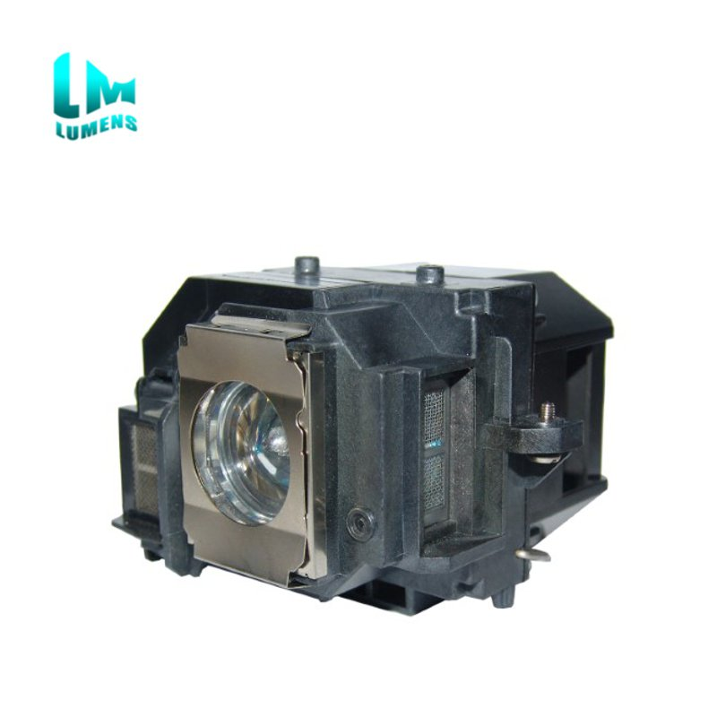 ELPLP58 projector lamp Compatible bulb with housing for Epson EB-S9 EB-X92 EB-S92 EB-W10 EB-W9 EB-X10 EB-X9 EB-S10 EX3200 EX5200<br>