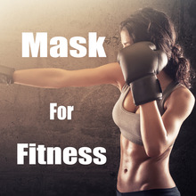 Phantom Training Fitness Mask MMA High Altitude Resistance Outdoor Sport Running Body Building Gym Equipment Mask 2.0