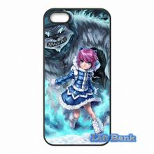 Cover For Apple iPod Touch 4 5 6 iPhone 4 4S 5 5S 5C SE 6 6S Plus 4.7 5.5 LOL Dark Child Annie League of Legends Hard Phone Case(China)