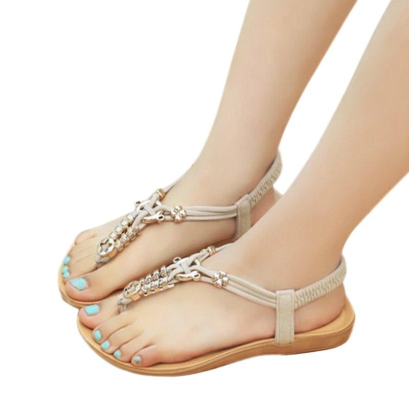 Women Sandals 2017 Hot Sale Casual Hollow Flip Flops Women Flat Soft Sandals Fashion Gladiator Sandals Women BT151<br><br>Aliexpress