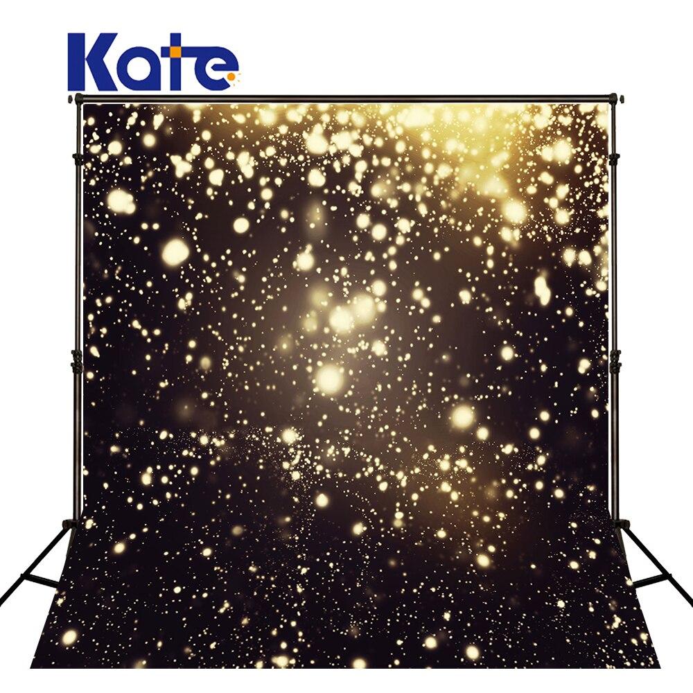 Kate Background For Photo Fantasy Black Background Gold Little  Spot  For Children Background Backdrop<br>