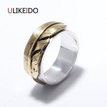 100% Pure 925 Sterling Silver Jewelry Takahashi Goros Rings Eagle Feathers Jewelry Ring For Men And Women Mens Signet Rings 155