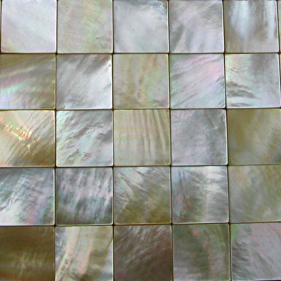 100% Natural Seashell Mother Of Pearl Golden Shell Mosaic Tile Kitchen  Backsplash Tile In Wallpapers From Home Improvement On Aliexpress.com |  Alibaba Group