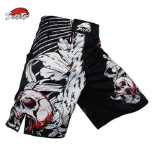 SUOTF Black Lion ferocious Tiger muay thai combat training Combat sports pants wild boxing pretorian thai shorts shorts clothing(China)