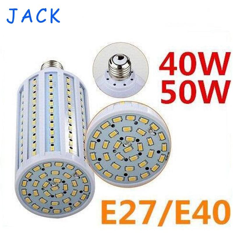 CE ROHS UL + E40 E27 40W 50W Led Bulbs Light Corn Lamp 132/165pcs SMD 5630 Led Corn Lights Warm White/White AC 110-240V<br><br>Aliexpress