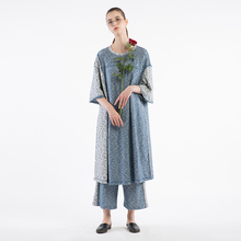 Semicircle original design, 2017 autumn new knitted stitching loose, middle and long section of thin, casual sports dress