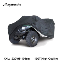 XXL Black ATV ATC Quad bike cover for Arctic cat Bombardier Honda suzuki Yamaha waterproof Resistant dust full protection