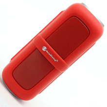 Hot bluetooth speaker IPX5 waterproof shockproof with hook woofer Radio FM portable parlante bluetooth portatil altavoz ducha(China)