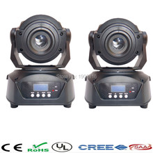 2pcs/lot 90W Gobo LED Moving Head Light 3 Face Prism DMX Controller for Stage Theater Disco Nightclub Party led patterns light