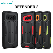 For Samsung galaxy S8 S8 Plus Coque case Nillkin Defender 2 stronger protective phone case For galaxy s8 s8+ case coque(China)