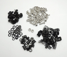 1998-2001 YZF R1 Motorcycle Fairing Bolt Screw Nuts Washers Fastener Fixation for Yamaha YZF R1 1998 1999 2000 2001 Complete Kit(China)