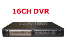 16CH DVR H.264 Triplex Digital Video CCTV Recorder with VGA Embedded Linux technology