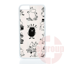 accessories Case Moomin Valley Cartoon For Apple iPhone 4 4S 5 5C SE 6 6S 7 Plus 4.7 5.5 iPod Touch 4 5 6