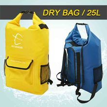 HITORHIKE 25L Outdoor Water-Resistant Dry Bag Sack Swim Storage for Rafting Boating Kayaking Canoeing Camping Travel Kits