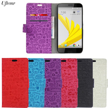 "Uftemr Magic Girl Cartoon Flip Wallet PU leather Case For HTC Bolt / HTC 10 Evo 5.5"" Cover Case Luxury Mobile Phone shell fundas(China)"