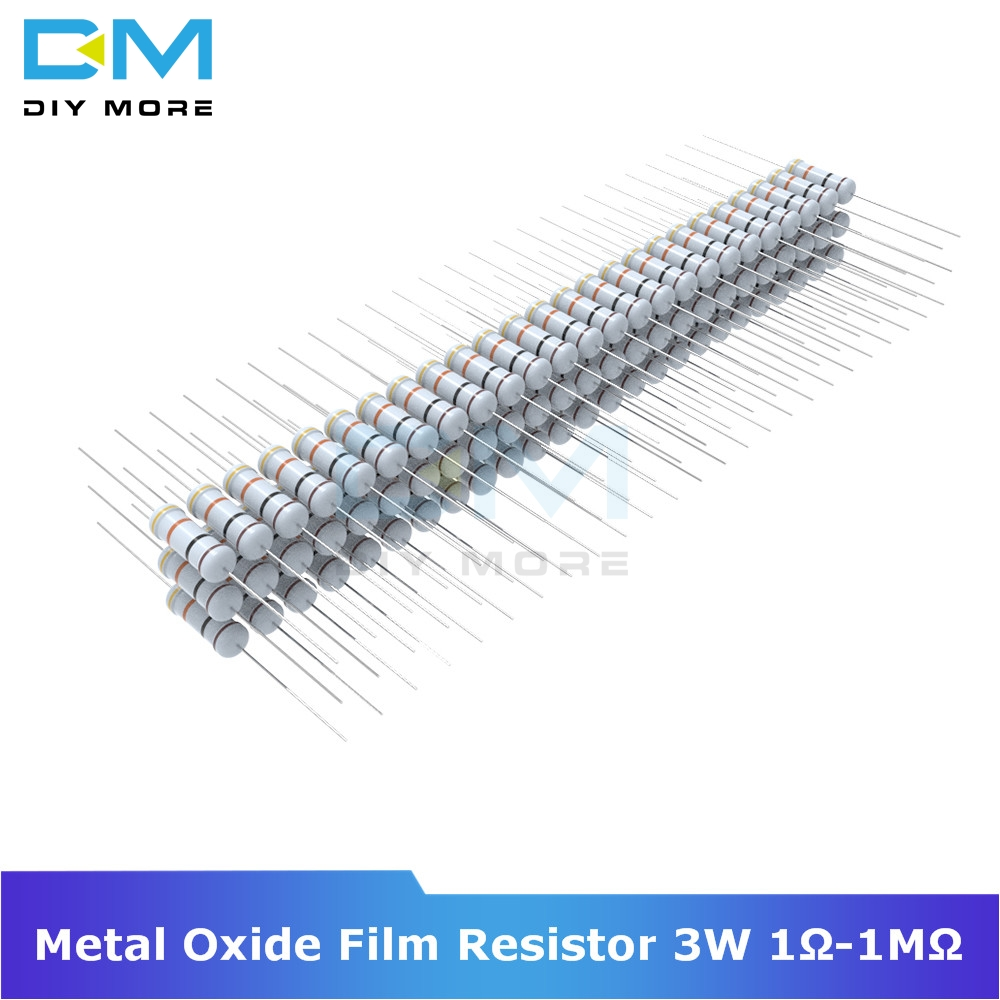 5 pack 2 watt 5/% metal oxide power resistors 82 ohm