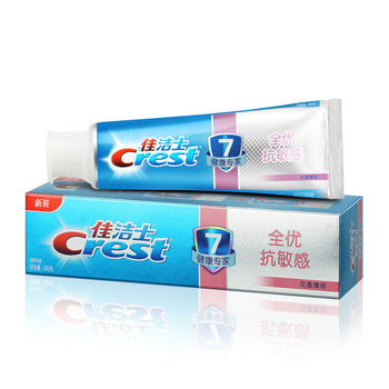 Crest Toothpaste multiple-effect Sensi Repair Whitening with Scope Long Lasting Mint Flavor Toothpaste 140g*1pcs
