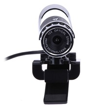 USB 2.0 Webcam 12.0 Mega Pixel Webcam 360 Degree MIC Clip-on for Skype Computer Laptop notebook