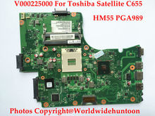 FOR TOSHIBA SATELLITE C655 LAPTOP MOTHERBOARD V000225000 6050A2355202 HM55 PGA989 DDR3 Fully tested