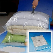 Top Selling Special Offer 60X40 cm Vacuum Seal Compressed Space Saver Storage Travel Large Bag Compression Space Saver