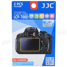 JJC Anti-smudge reflect scratch LCD Film Screen Protector Cover for Canon EOS 750D 700D 650D Kiss X8i X7i X6i Rebel T6i T5i T4i
